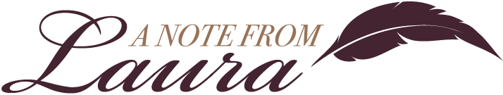 note from laura logo