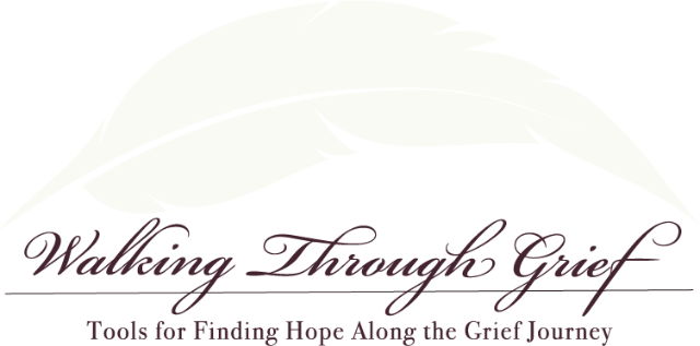 walking through grief logo